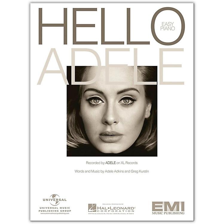 Hal LeonardHello - Adele, Easy Piano Sheet