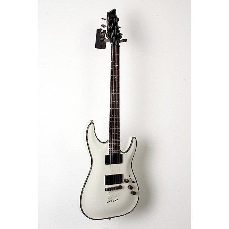 Schecter Guitar Research Hellraiser C-1 Electric Guitar White 888365856032