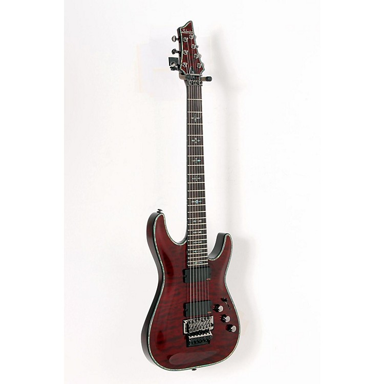 Schecter Guitar Research Hellraiser C-7 FR 7-String Electric Guitar Black Cherry 888365118390