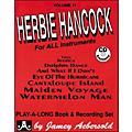 Jamey Aebersold Herbie Hancock Play-Along Book and CD