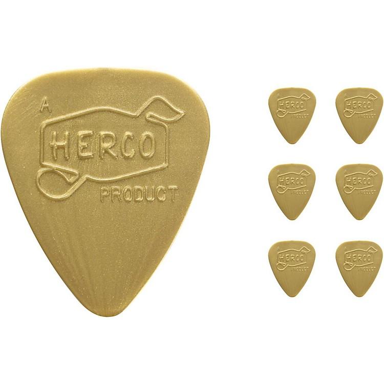 DunlopHerco Vintage 66' Light Picks Gold (6-Pack)