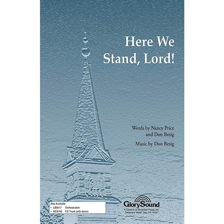 Hal LeonardHere We Stand Lord SATB
