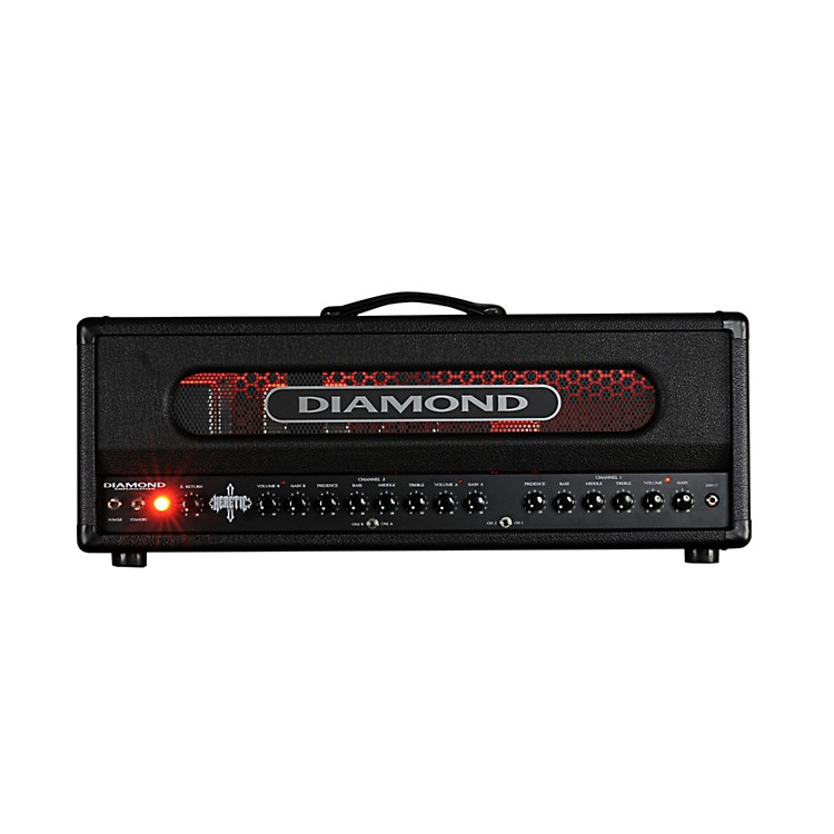 Diamond Amplification Heretic USA Custom Series100W Modern Tube Guitar Amp Head Black