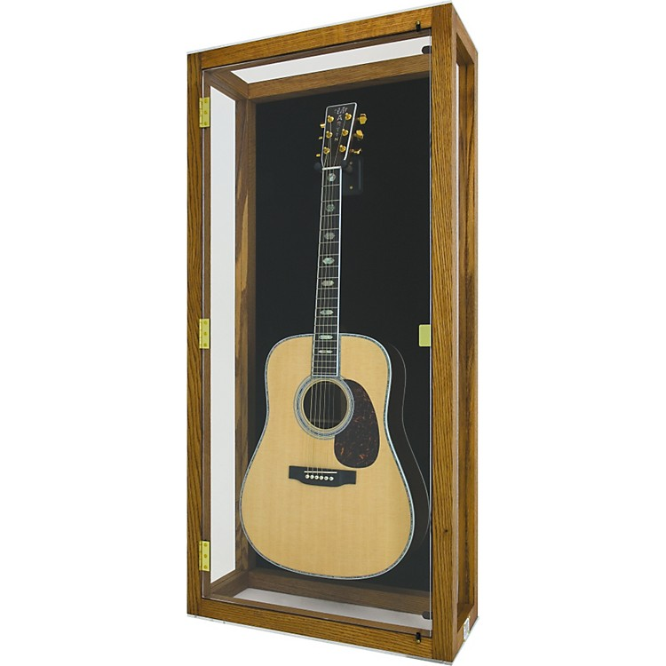 display and play heritage heirloom acoustic guitar display case music123. Black Bedroom Furniture Sets. Home Design Ideas