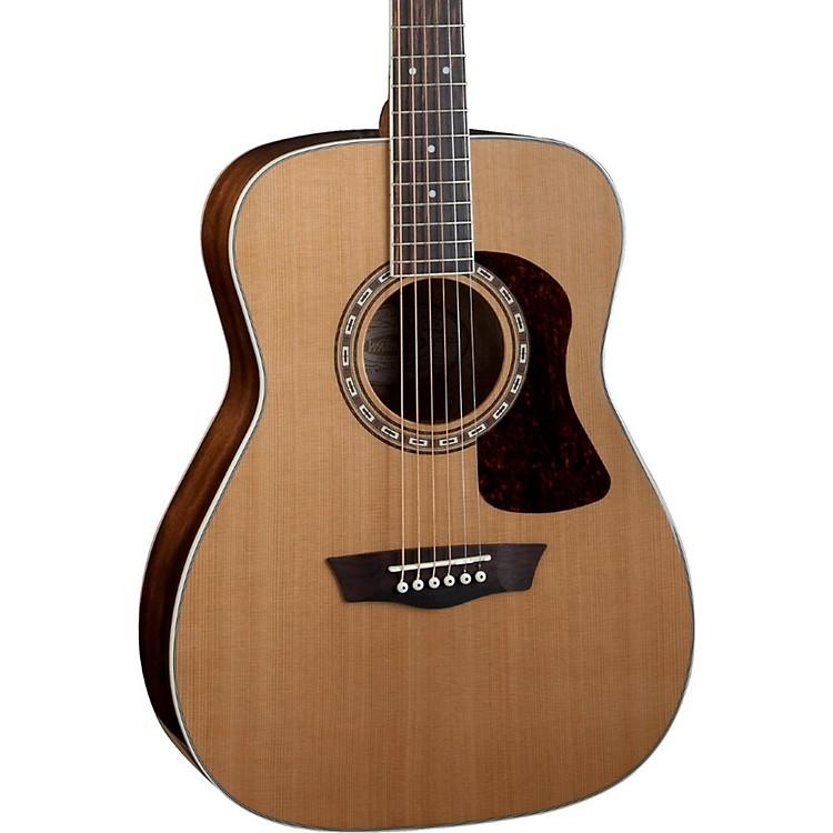 WashburnHeritage Series Acoustic Folk GuitarNatural