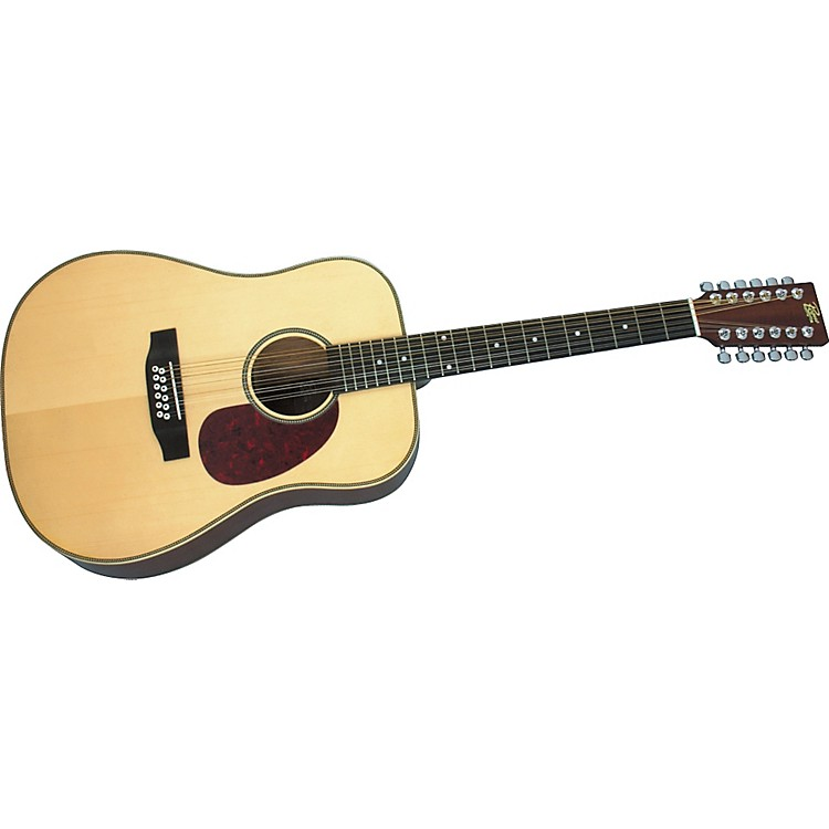 Rogue Herringbone 12-String Acoustic Guitar Natural