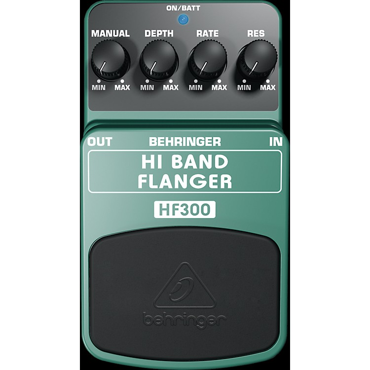 Behringer Hi Band Flanger HF300 Guitar Effects Pedals