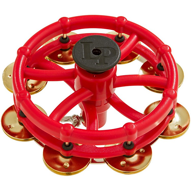 LP Hi-Hat Tambourine with Click Feature Brass Jingles