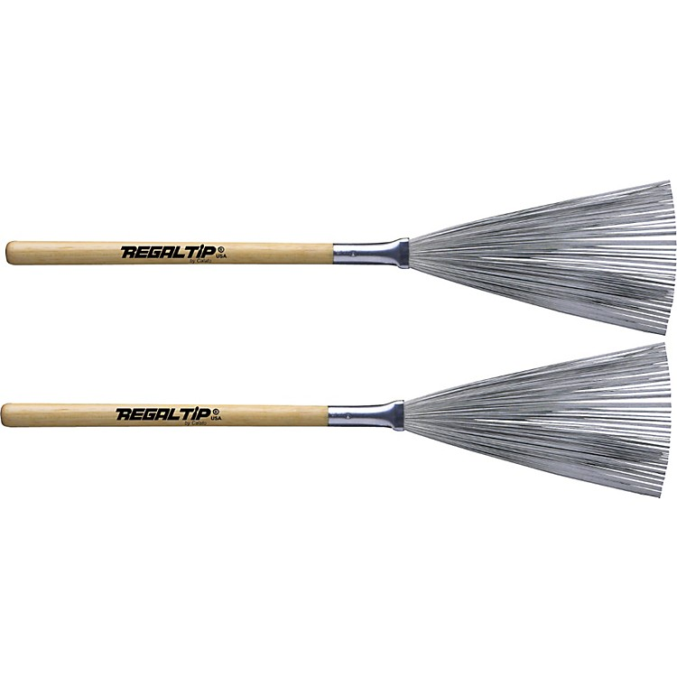 Regal TipHickory Handle Non-Telescoping Brushes