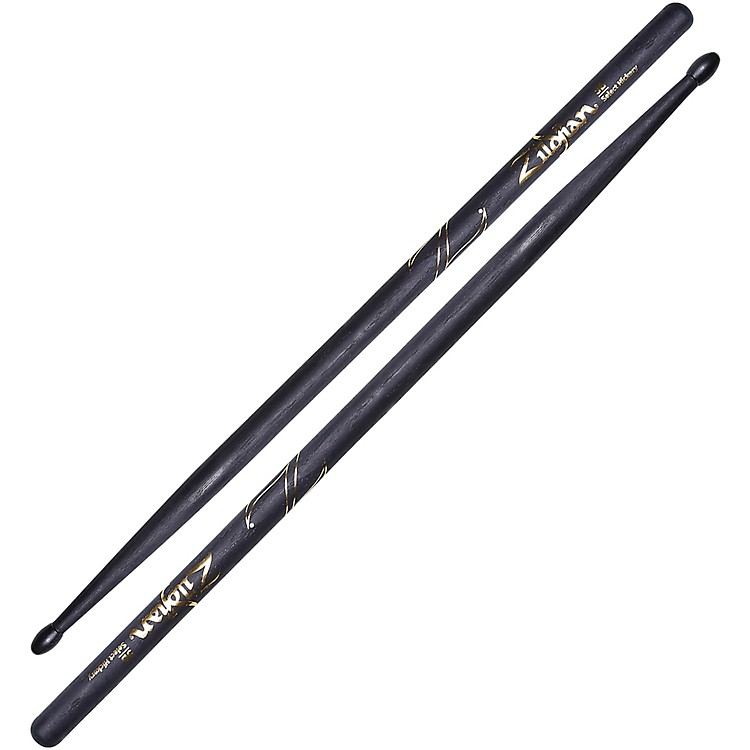 Zildjian Hickory Series Black Drumsticks Nylon 5B