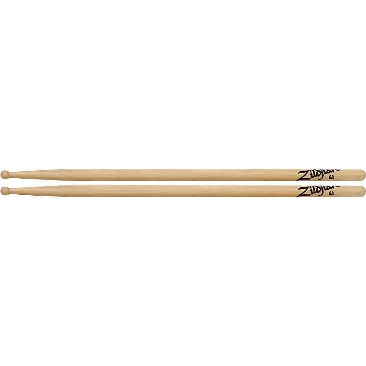 ZildjianHickory Series Natural Drumsticks6AWood