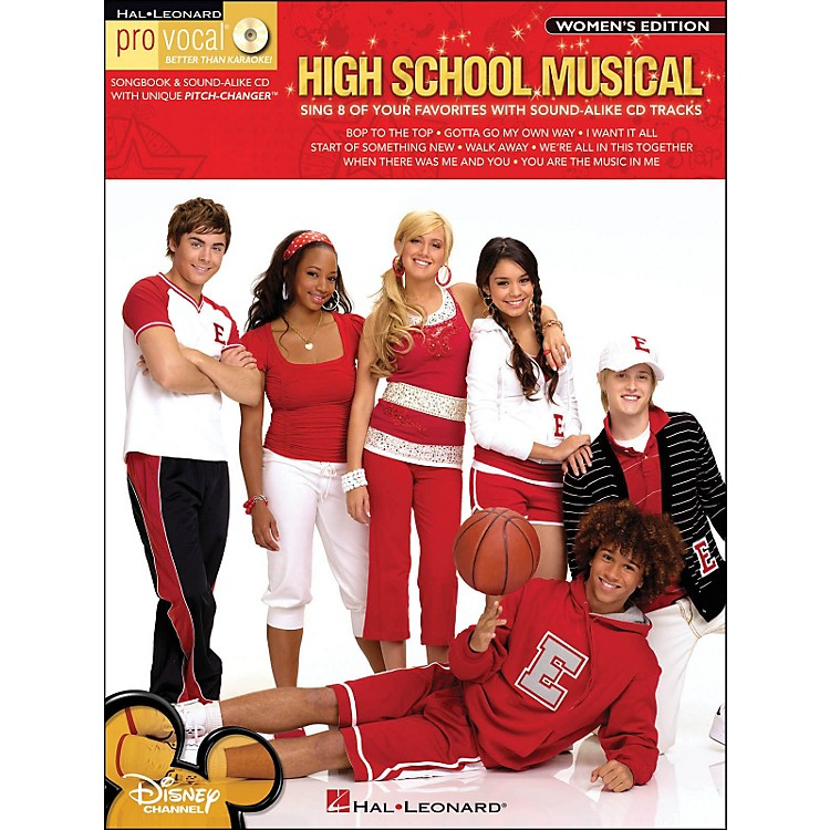 Hal Leonard High School Musical - Pro Vocal Songbook & CD for Female Singers