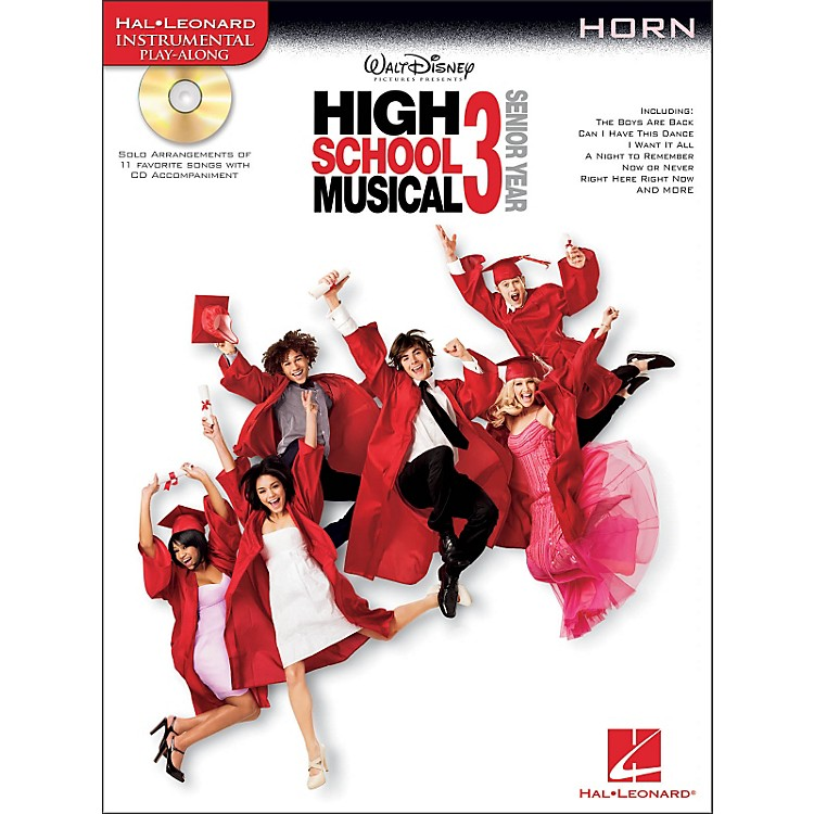 Hal Leonard High School Musical 3 for French Horn - Instrumental Play-Along Book/CD Pkg