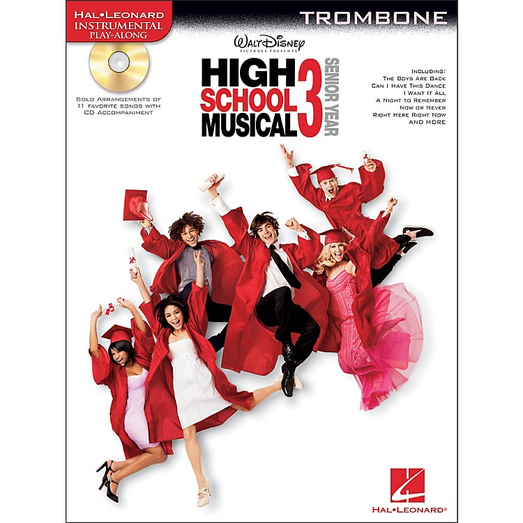 Hal Leonard High School Musical 3 for Trombone - Instrumental Play-Along Book/CD Pkg