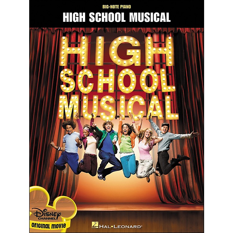 Hal Leonard High School Musical Original Movie for Big Note Piano