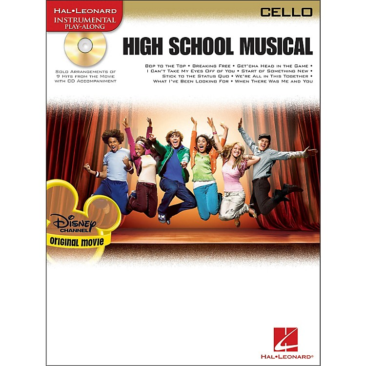 Hal Leonard High School Musical for Cello Book/CD