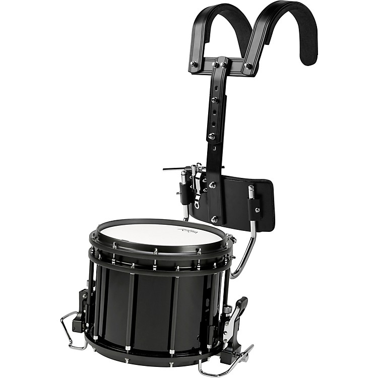 Sound Percussion Labs High-Tension Marching Snare Drum with Carrier 14 x 12 Black