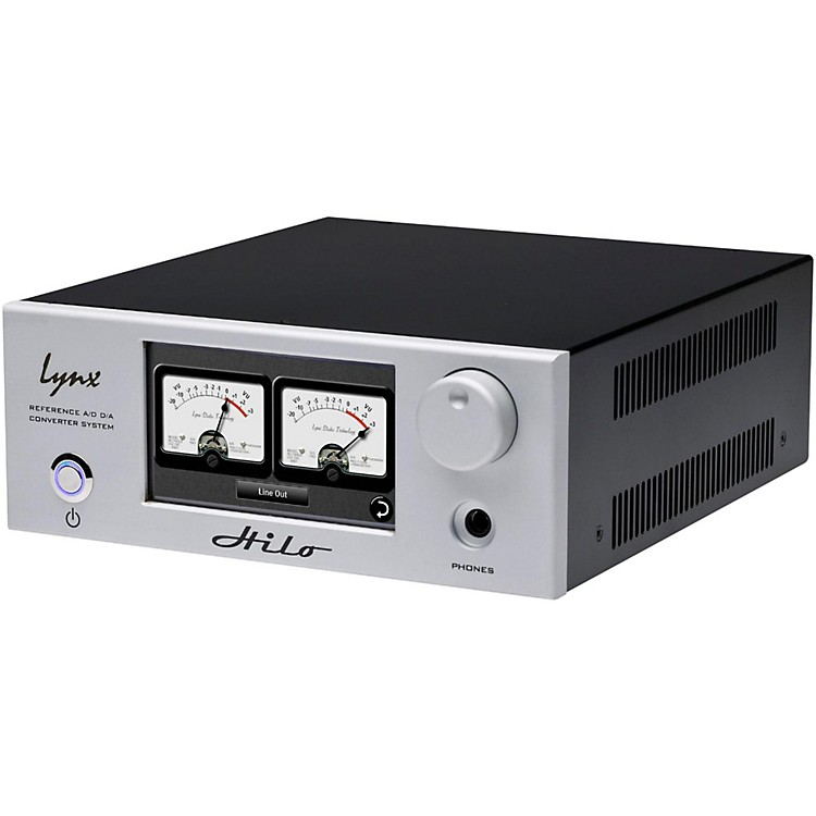 LynxHilo AD/DA Converter with Thunderbolt (Silver)