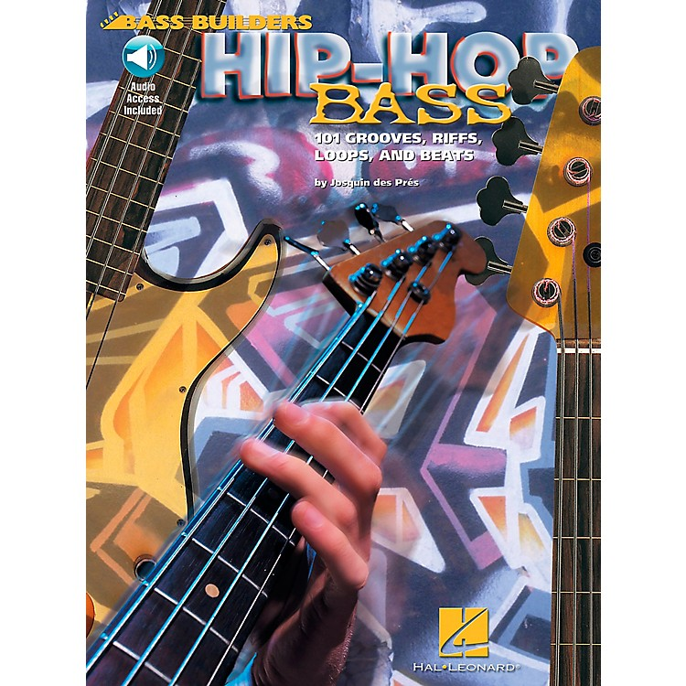 Hal LeonardHip-Hop Bass - 101 Grooves, Riffs, Loops, and Beats Book/CD