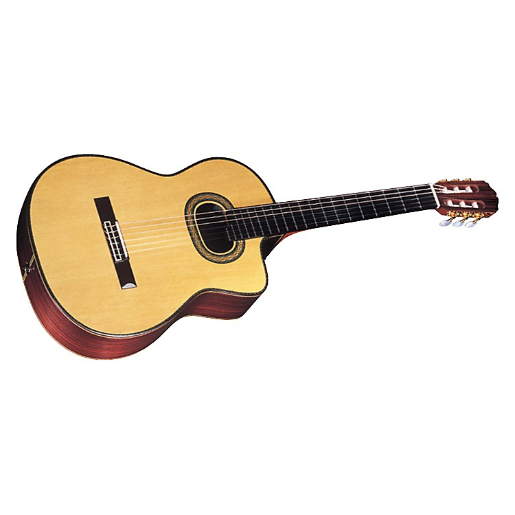 Takamine Hirade TH90 Classic Acoustic-Electric Guitar Gloss Natural