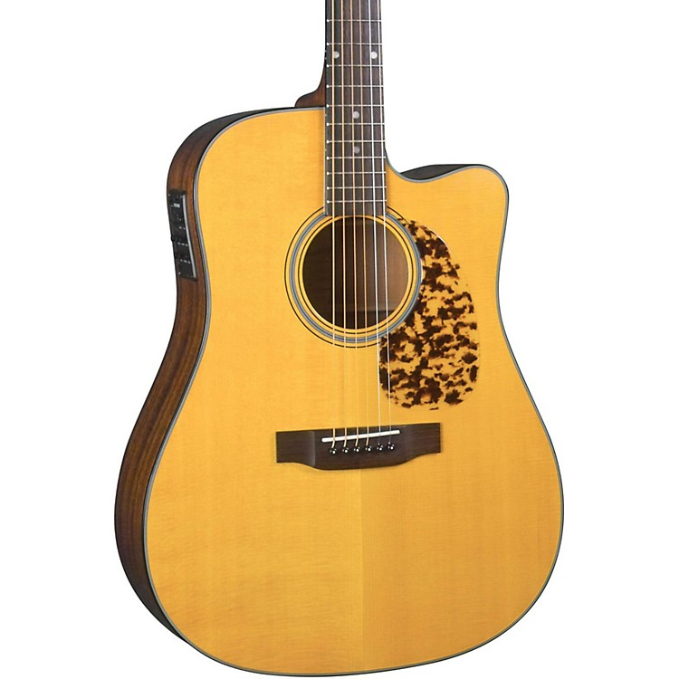 Blueridge Historic Series BR-140CE Cutaway Dreadnought Acoustic-Electric Guitar Natural