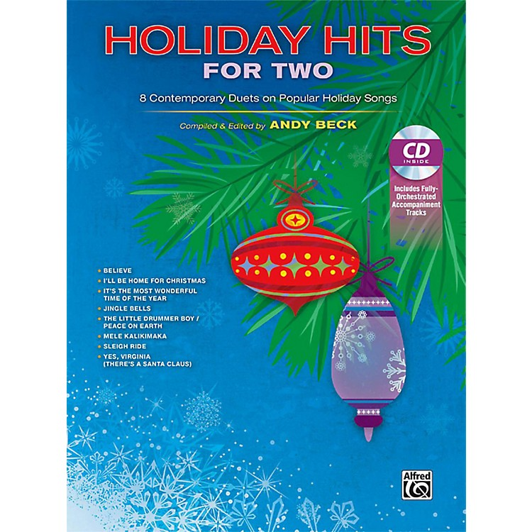 AlfredHoliday Hits for Two Vocal Collection (Book/CD)