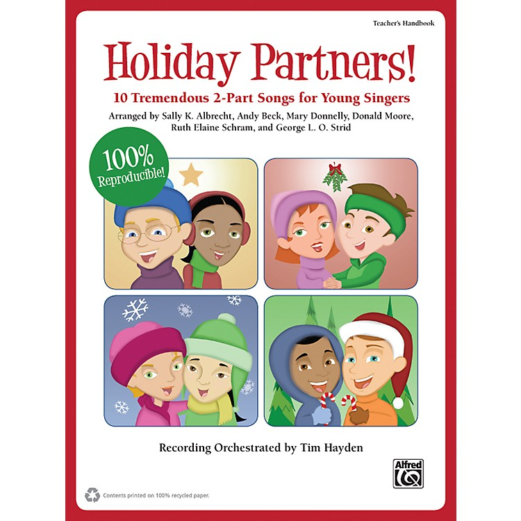 AlfredHoliday Partners! Book & CD