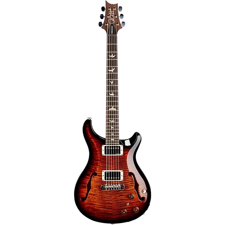 PRSHollowbody II Flame Maple 10 Top Electric GuitarBlack Gold Burst