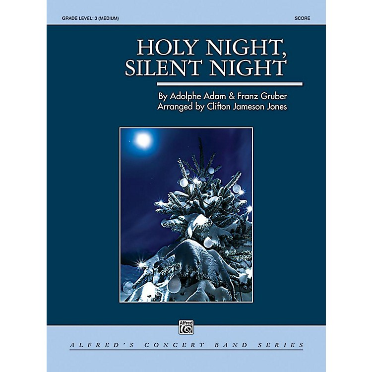 Alfred Holy Night, Silent Night Concert Band Grade 3 Set