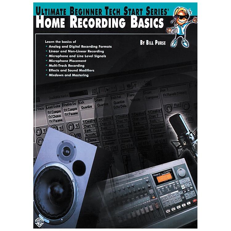 AlfredHome Recording Basics Book