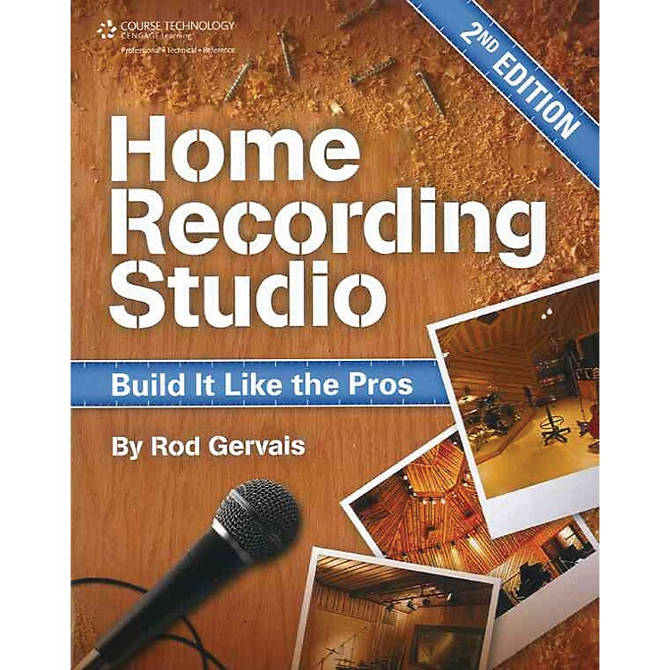 Course Technology PTRHome Recording Studio Build It Like The Pros Book