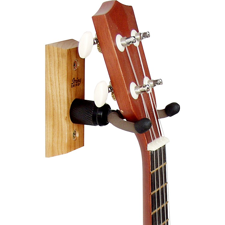 String Swing Home and Studio Ukulele Hanger wood