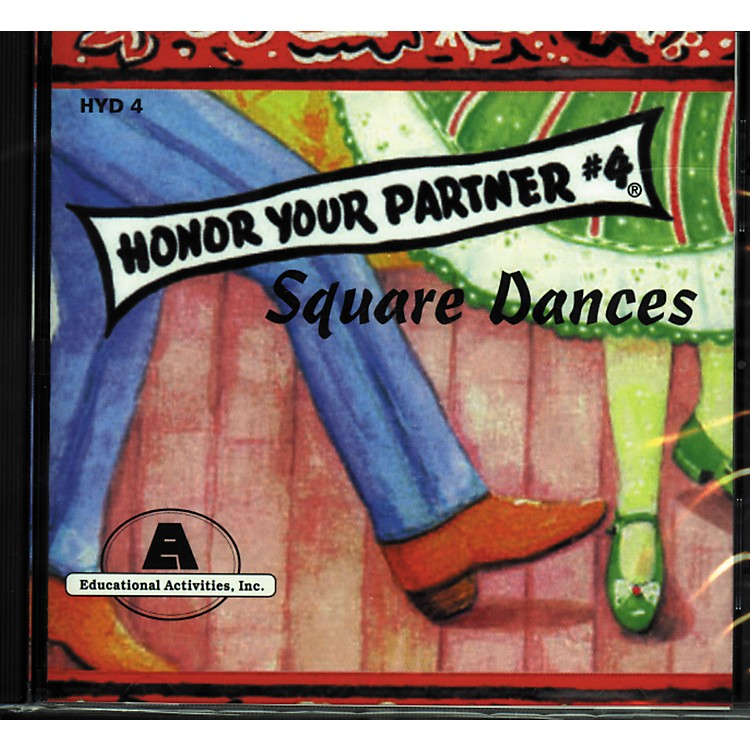 Educational Activities Honor Your Partner Square Dancing Course Complete 4-CD Set
