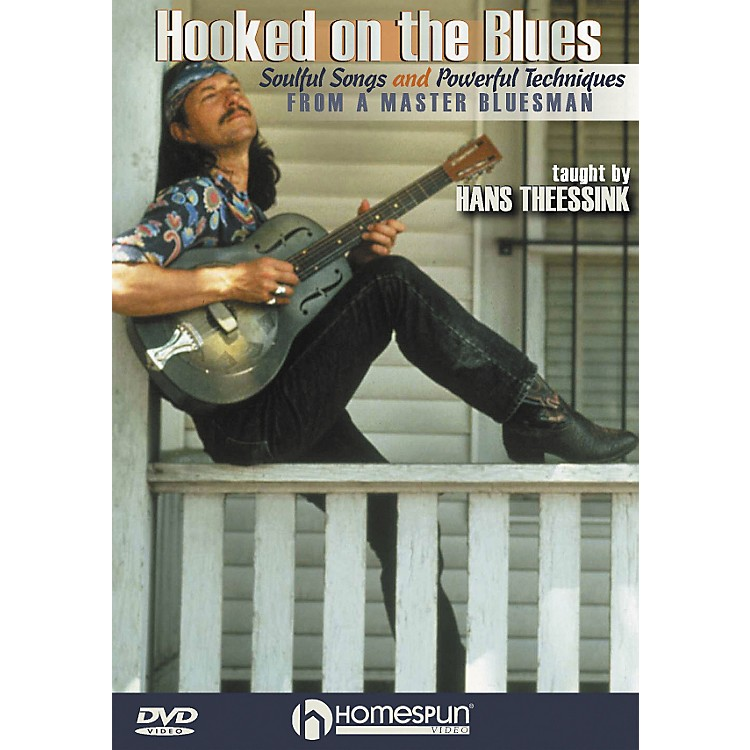 HomespunHooked on the Blues - Dynamic Guitar Techniques (DVD)