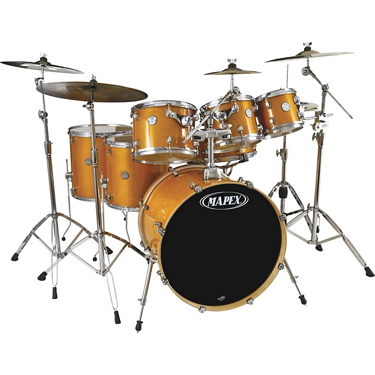 MapexHorizon Birch/ Basswood Lacquer 7-Piece Drumset with Hardware