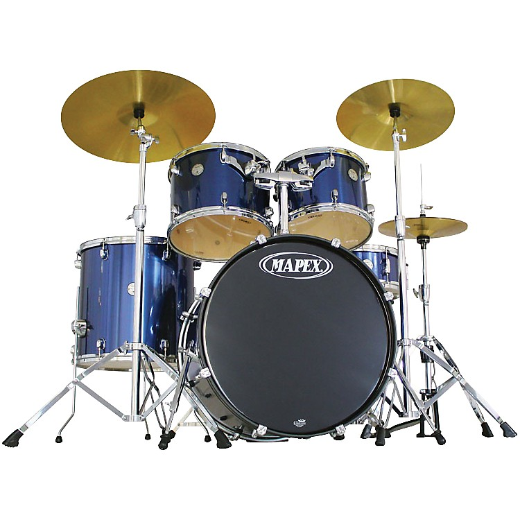 Mapex Horizon HX 5-Piece Shell Pack w/ Free 8x7 tom Indigo Steel