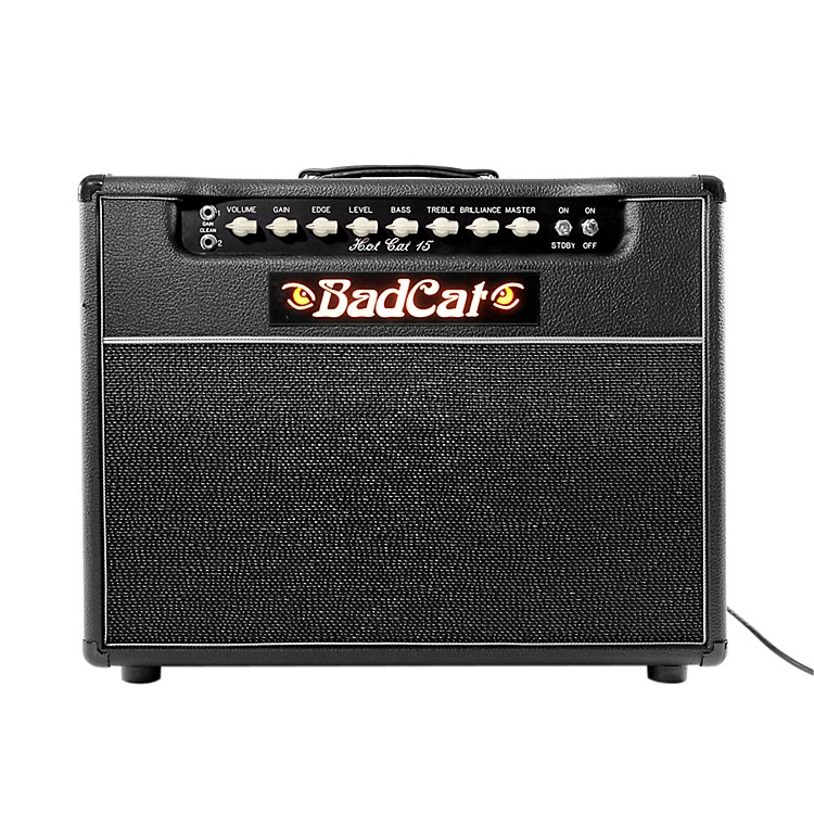 Bad Cat Hot Cat 15 15W 1x12 Guitar Tube Combo Amp Black