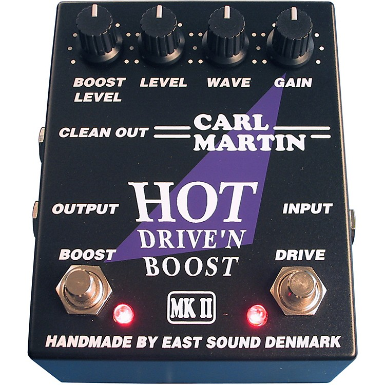 Carl Martin Hot Drive'n Boost MK 2