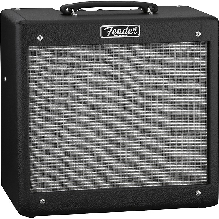 Fender Hot Rod Series Pro Junior III 15W 1x10 Tube Guitar Combo Amp Black