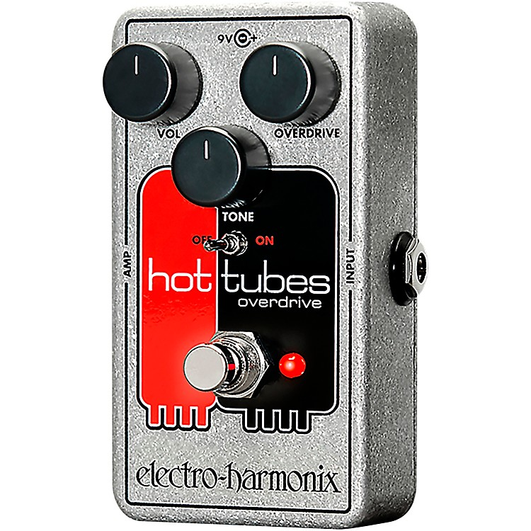 Electro-Harmonix Hot Tubes Nano Overdrive Guitar Effects Pedal