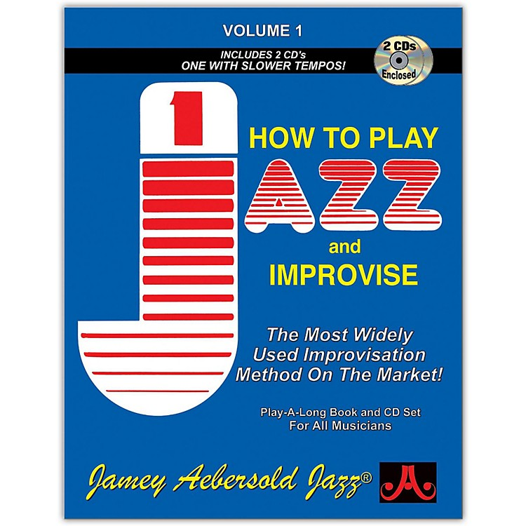 Jamey AebersoldHow To Play Jazz and Improvise Book and CD