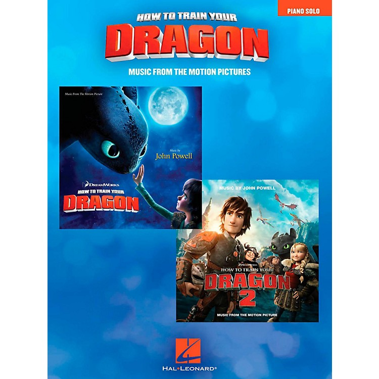 Hal Leonard How To Train Your Dragon - Music From The Motion Pictures for Piano Solo