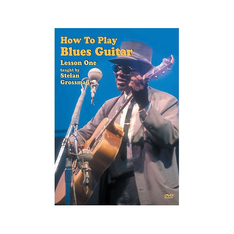 Mel Bay How to Play Blues Guitar DVD, Lesson 1
