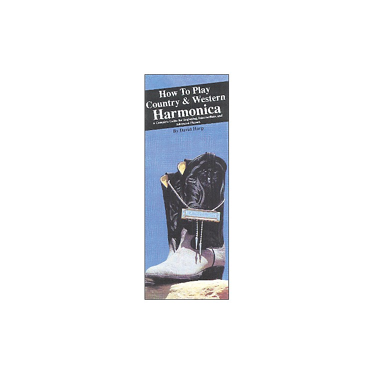 Music SalesHow to Play Country and Western Harmonica (Book)