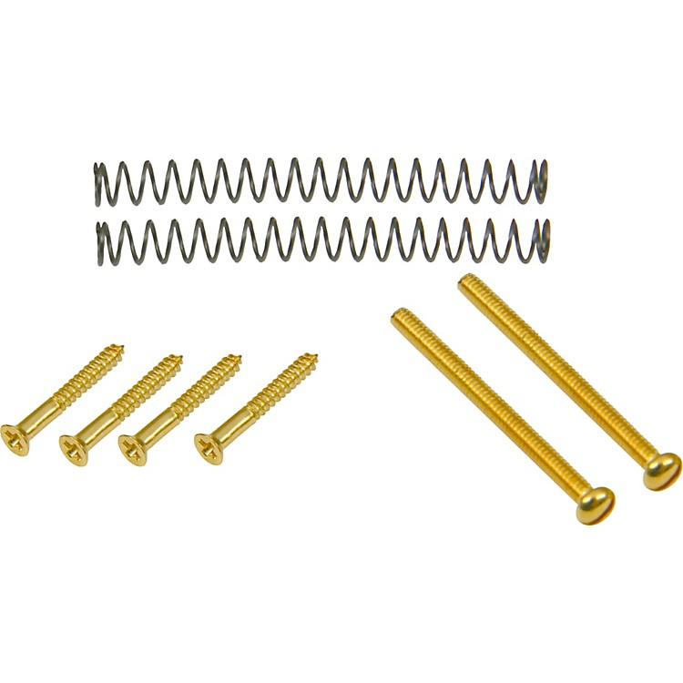 DiMarzio Humbucker Mounting Hardware Kit Gold Bridge