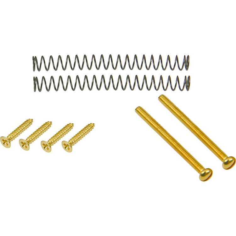 DiMarzio Humbucker Mounting Hardware Kit Gold Neck