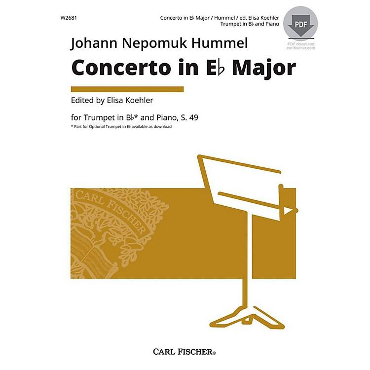 Carl FischerHummel Trumpet Concerto