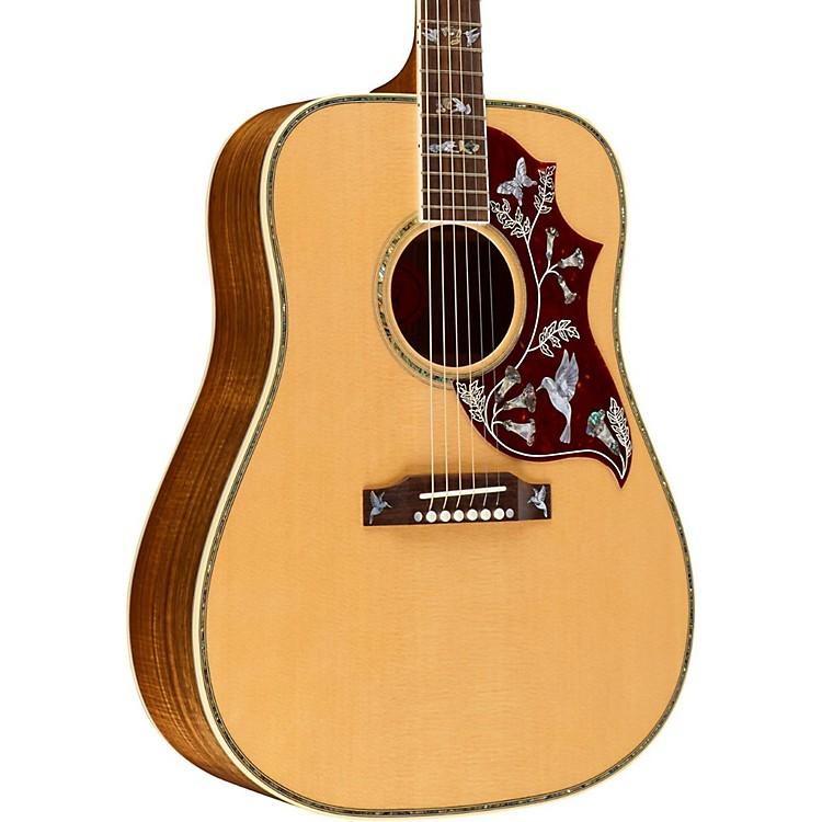 GibsonHummingbird Custom Koa Limited Edition Acoustic GuitarNatural