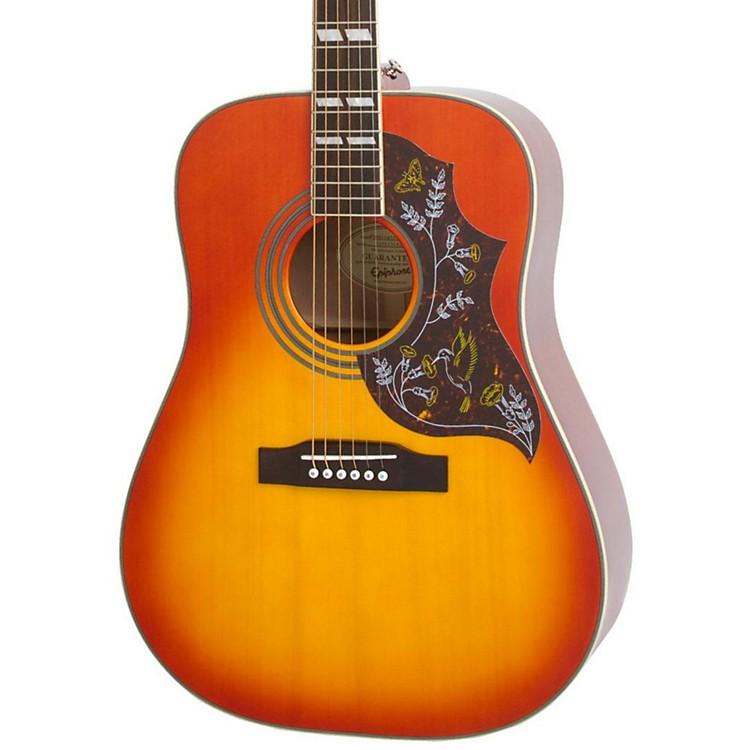 EpiphoneHummingbird PRO Acoustic-Electric GuitarFaded Cherry