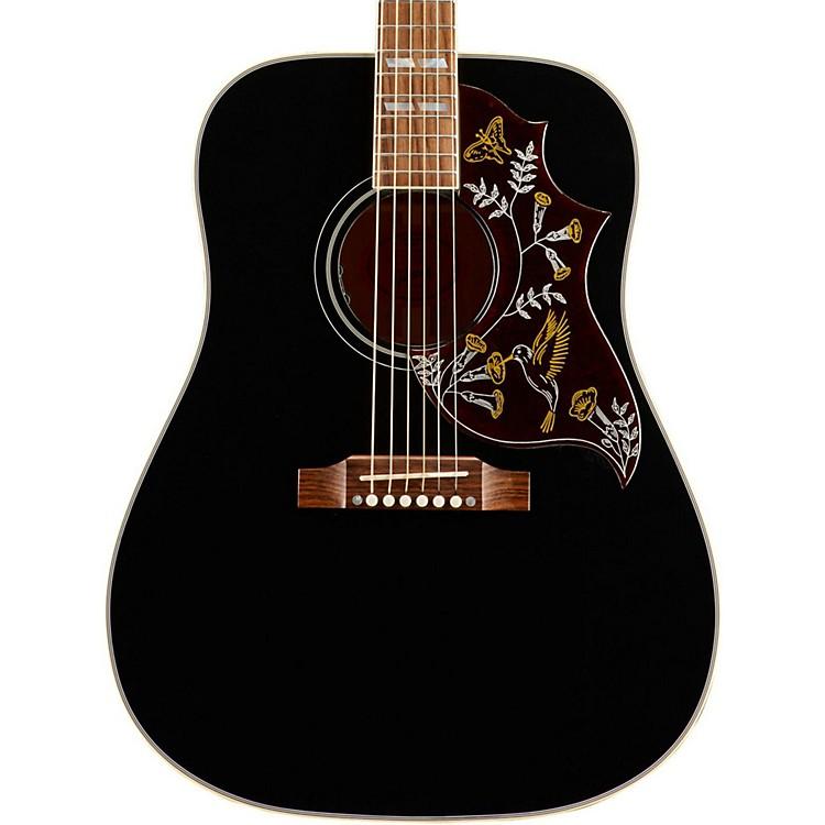 GibsonHummingbird SSHBAEG17 Ebony Special Acoustic-Electric GuitarBlack